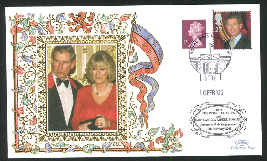 2005 - Royal Engagement Commemorative Cover - London Postmark