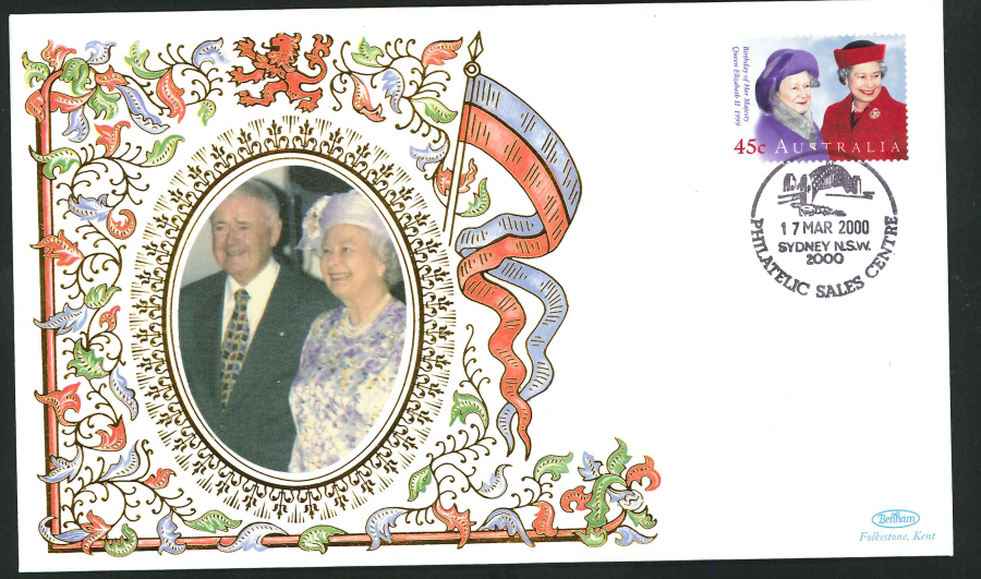 2000 - Royal Visit to Australia Commemorative Cover - Sydney NSW Postmark