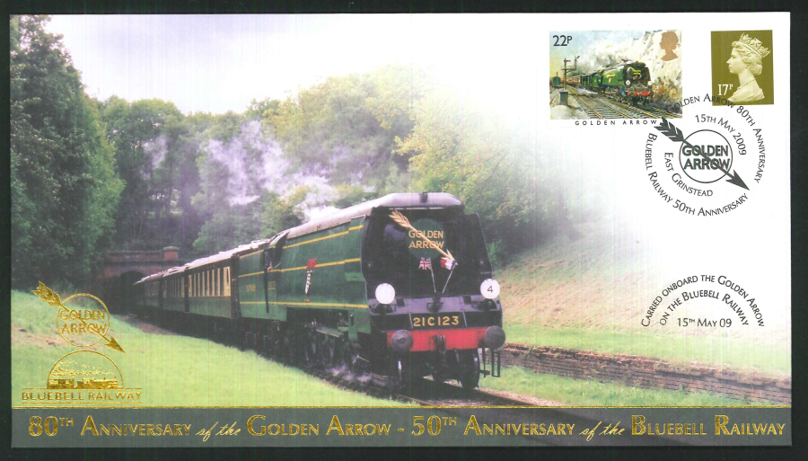 2009-Buckingham-Golden Arrow 80th Anniversary