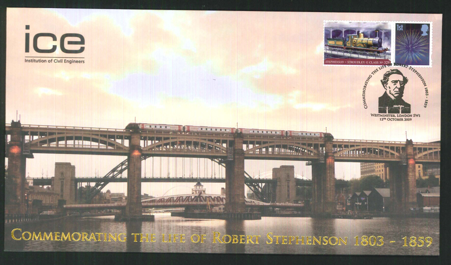 2009-Buckingham-Railway-Commemorating the 150th Anniversary of the death Robert Stephenson