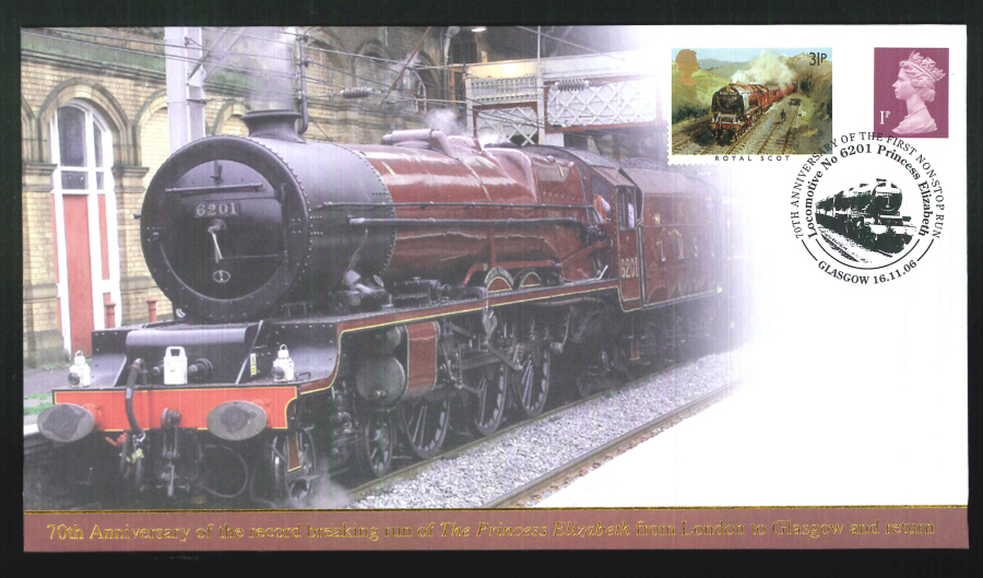 2006-Buckingham-Railway-70th Anniversary of Princess Elizabeth