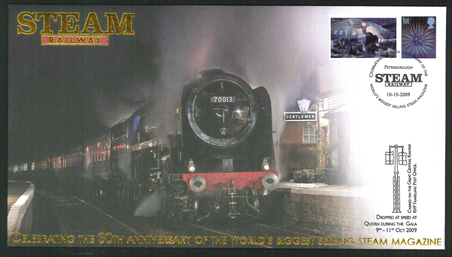 2009-Buckingham-Railway- 30th anniversary of Steam Railway Magazine