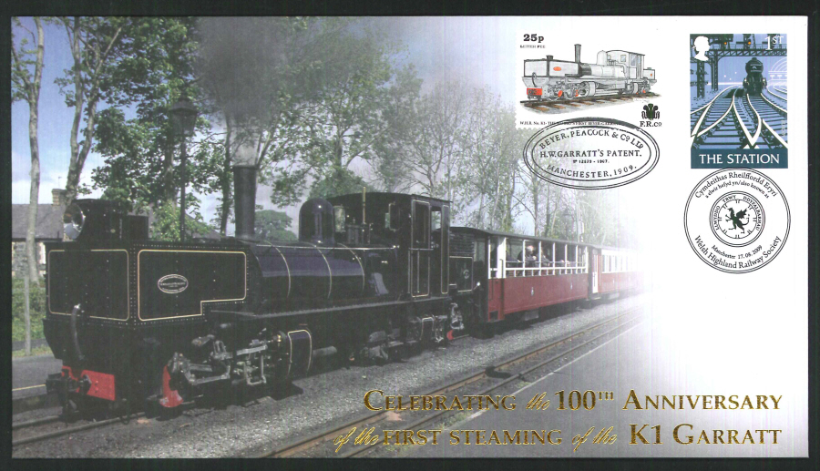2009-Buckingham-Railway-100th anniversary of the K1 Garratt