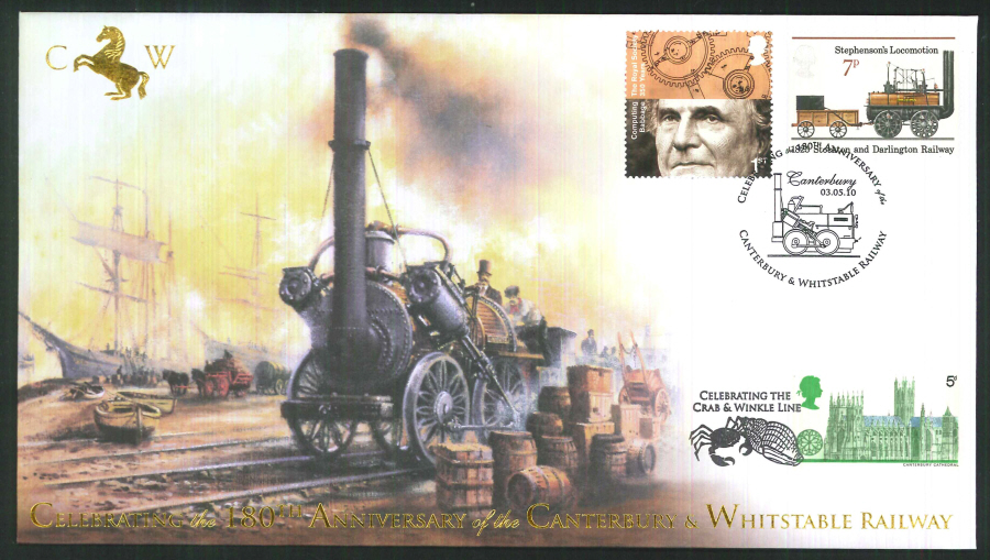 2010-Buckingham-Railway-180th Anniversary of the Canterbury & Whitstable Railway