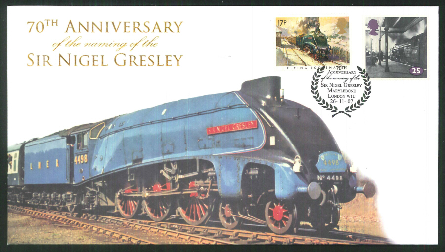 2007-Buckingham-Railway-70th Anniversary of the naming of Sir Nigel Gresley
