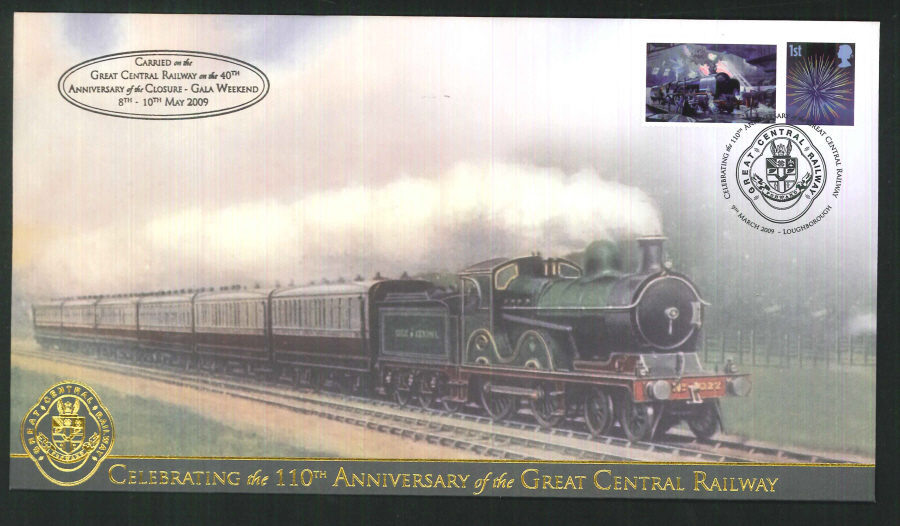 2009-Buckingham-Railway- 110th Anniversary of the Great Central Railway