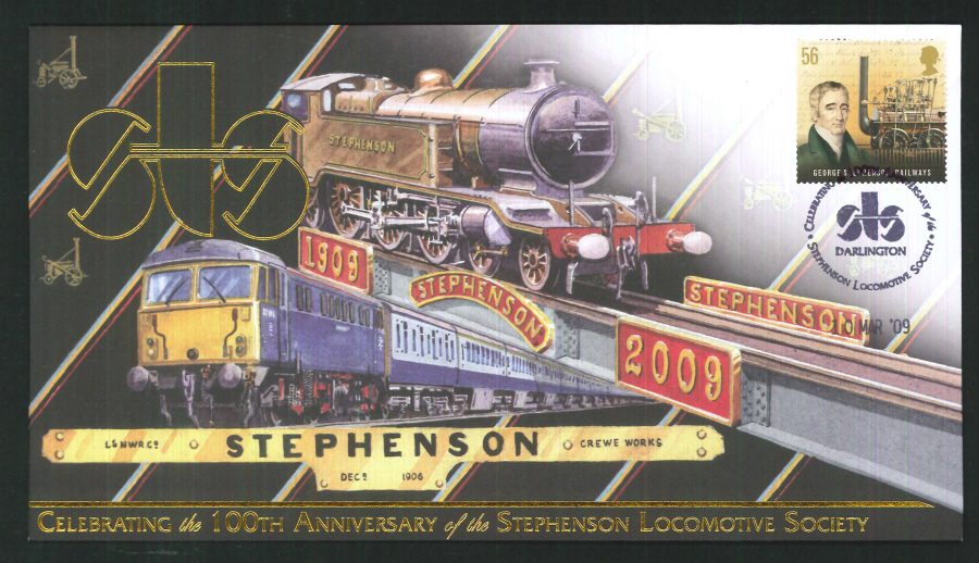 2009-Buckingham-Railway- 100th Anniversary of the Stephenson Locomotive Soc