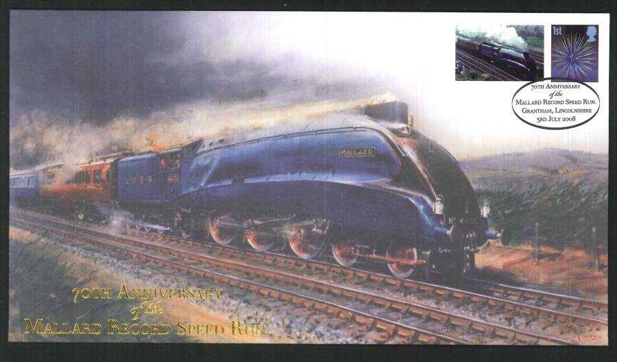2008-Buckingham-Railway-70th Anniversary of the Mallard Record Speed Run