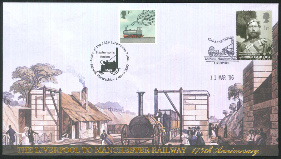 2007-Buckingham-Liverpool to Manchester Railway Doubled Cover