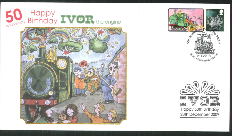 2009-Buckingham-50th Anniversary of Ivor the Engine