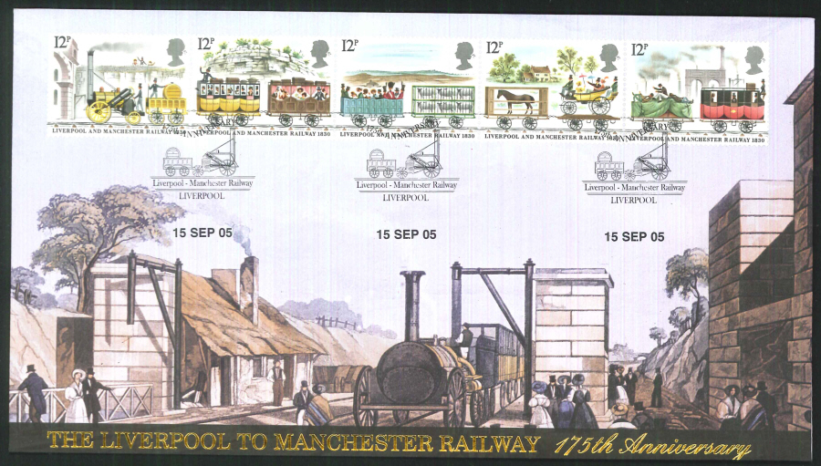 2005-Buckingham-Liverpool - Manchester Railway: 175 Years