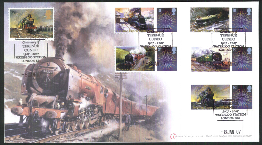 2007-Buckingham-Tribute to Terence Cuneo 2