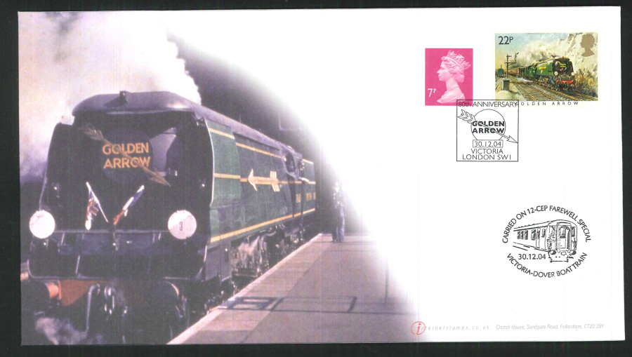 2004-Buckingham-Golden Arrow's 80th Anniversary Carried Cover