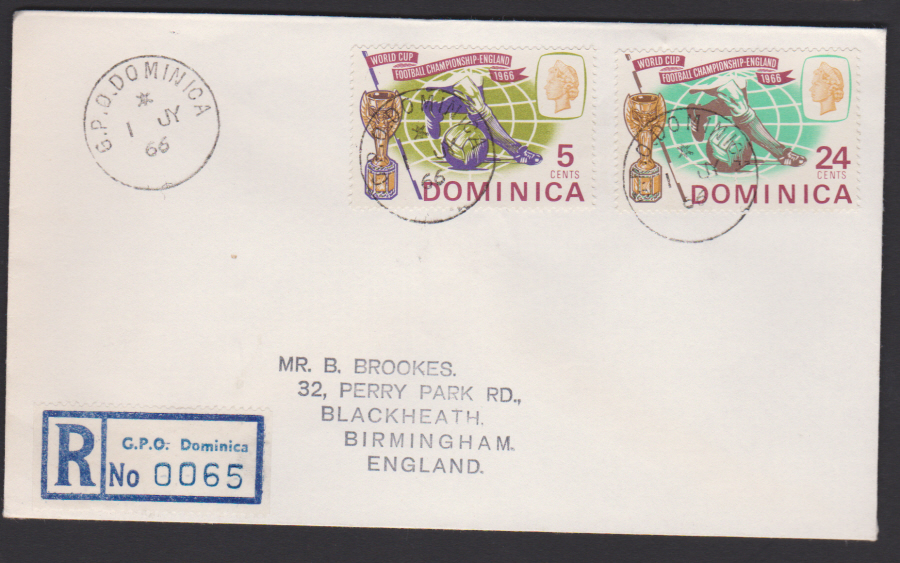 1966 Dominica FDC World Cup