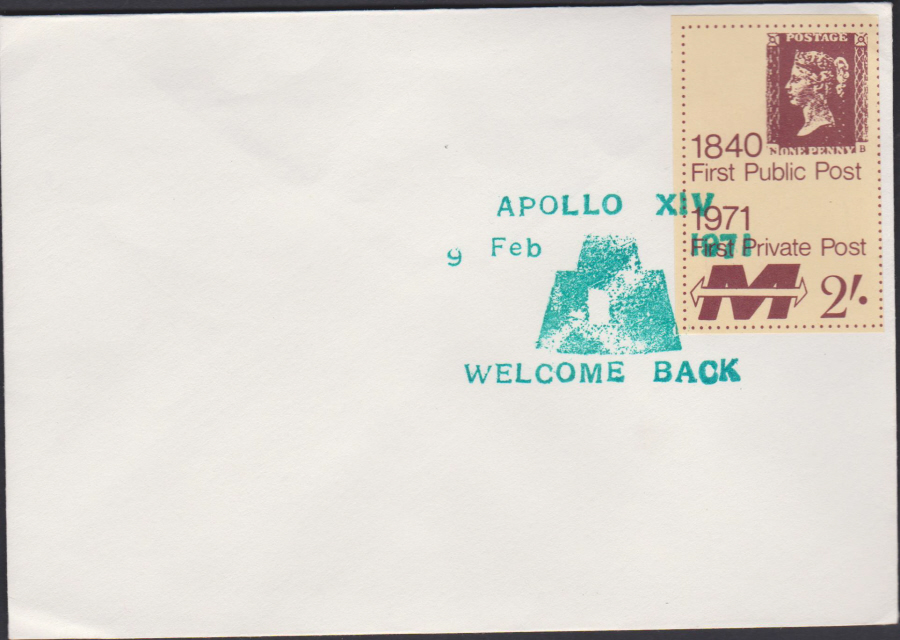 1971 Private Post Apollo XIV Welcome Back