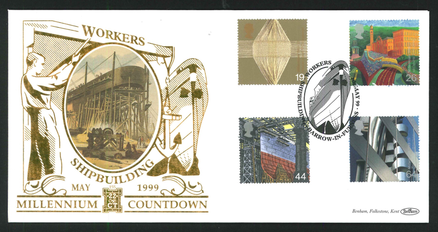 1999 - Workers' Tale First Day Cover - Barrow in Furness Postmark