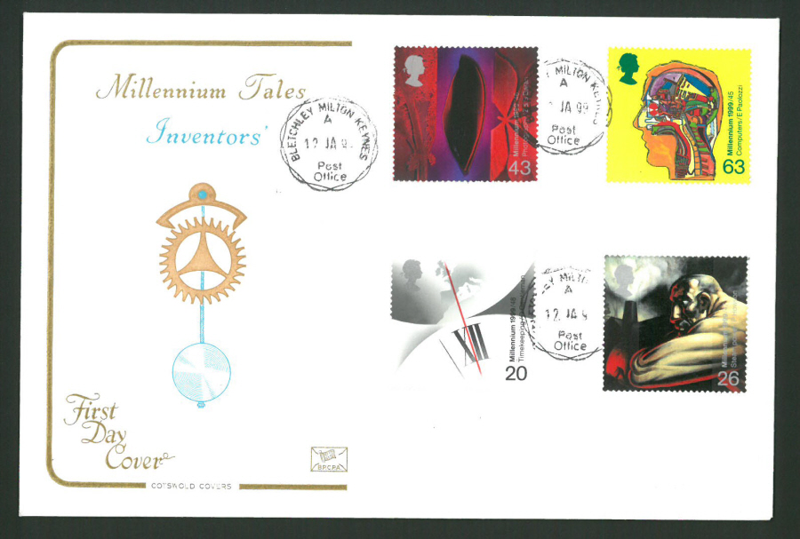 1999 - Cotswold Travellers' Tale First Day Cover - Gatwick Postmark - Click Image to Close