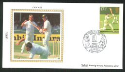 1989 Cricket Cover Third Test Match Series
