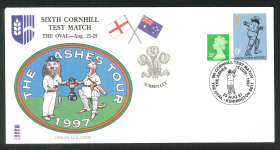 1997 E C B Cricket Cover Cornhill Test Match