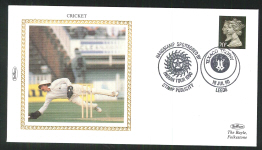 1990 Cricket Cover British Cricket Series Texaco Series