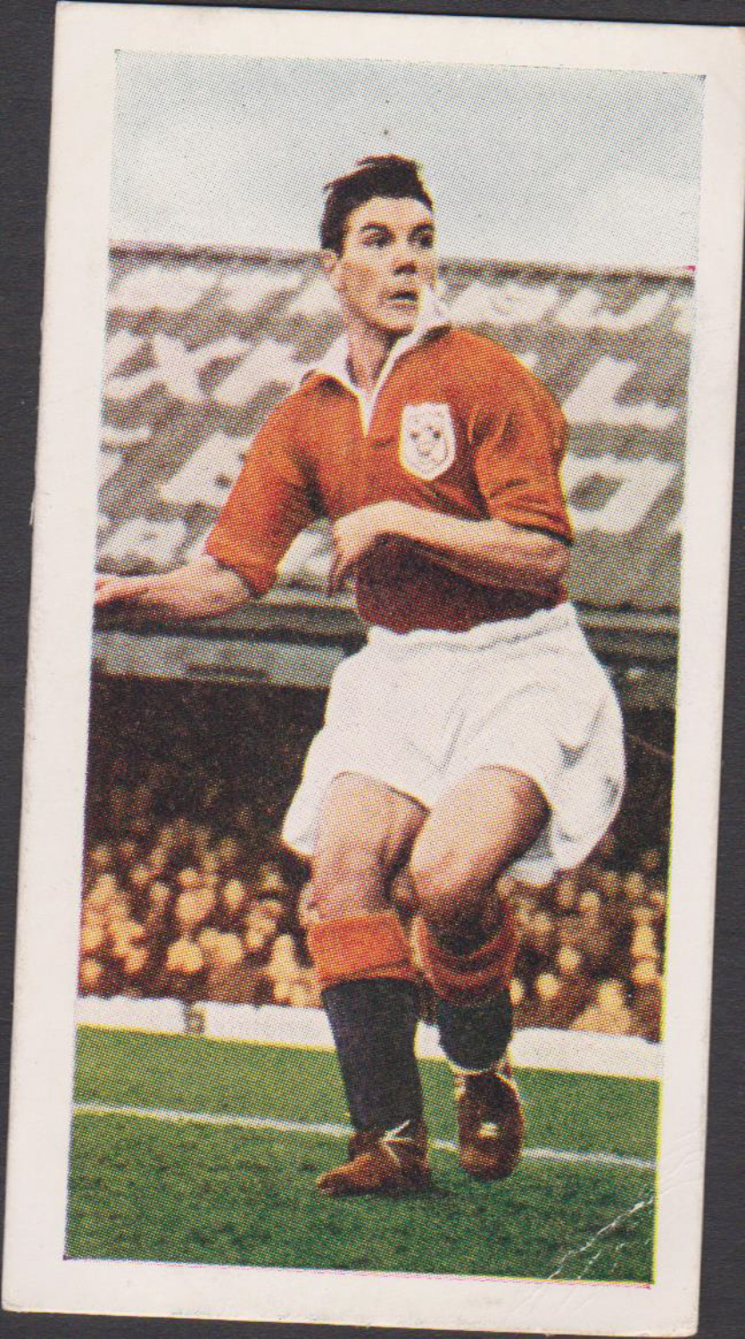 Chix Famous Footballers Series 1 No 38 Allan Brown Blackpool