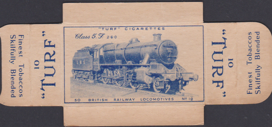 Carreras Turf Full Slides British Railway Loccomotives No 18