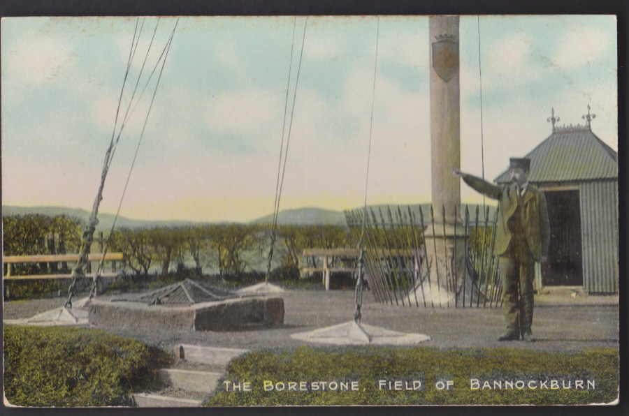 Postcard - Scotland- The Borestone,Field of Bannockburn