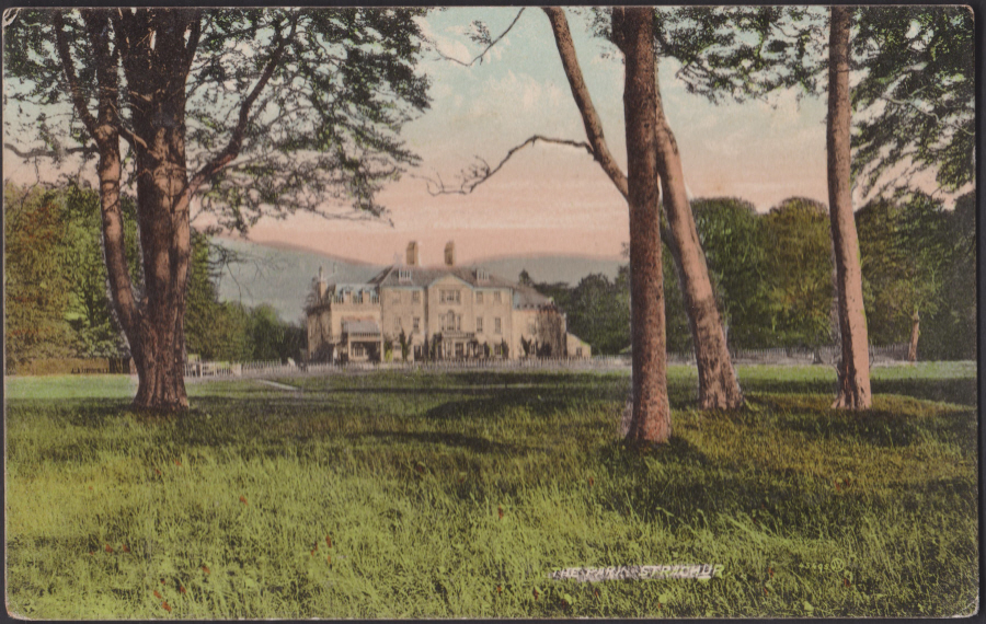 Postcard - Scotland- The Park, Strachur by Valentine