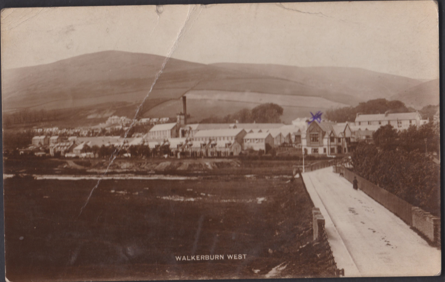 Postcard - Scotland- Walkenburn West 1918