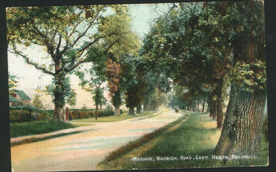 Postcard Avenue, Warwick Road Copt Heath Solihull Warkwickshire