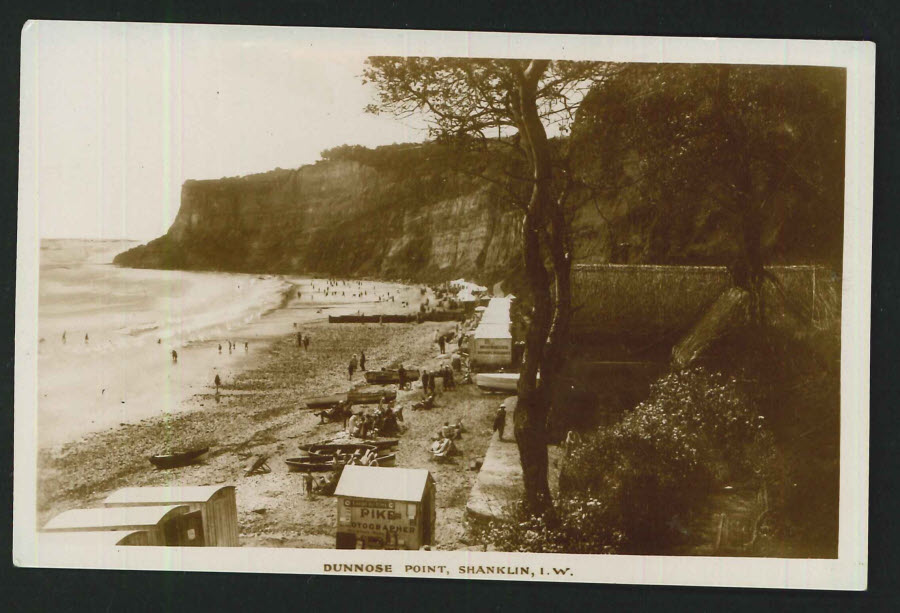 Postcard Dunnose Point, Shanklin Osle of Wight