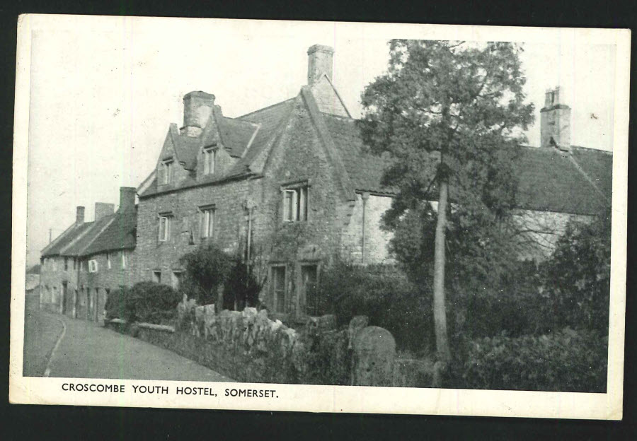 Postcard Somerset - Croscombe Youth Hostel 1948