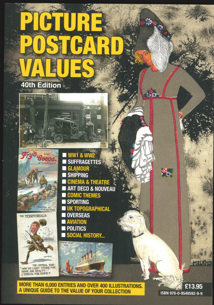 """Picture Postcard Values - 40th Edition"""