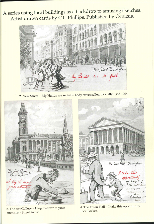"""Comic and novelty postcards of Birmingham"" by Mary B. Harding"