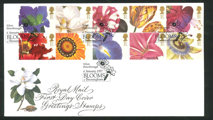 All products cofton collections cigarette trade cards 1997 greetings royal mail fdc blooms of bressingham elton pm m4hsunfo