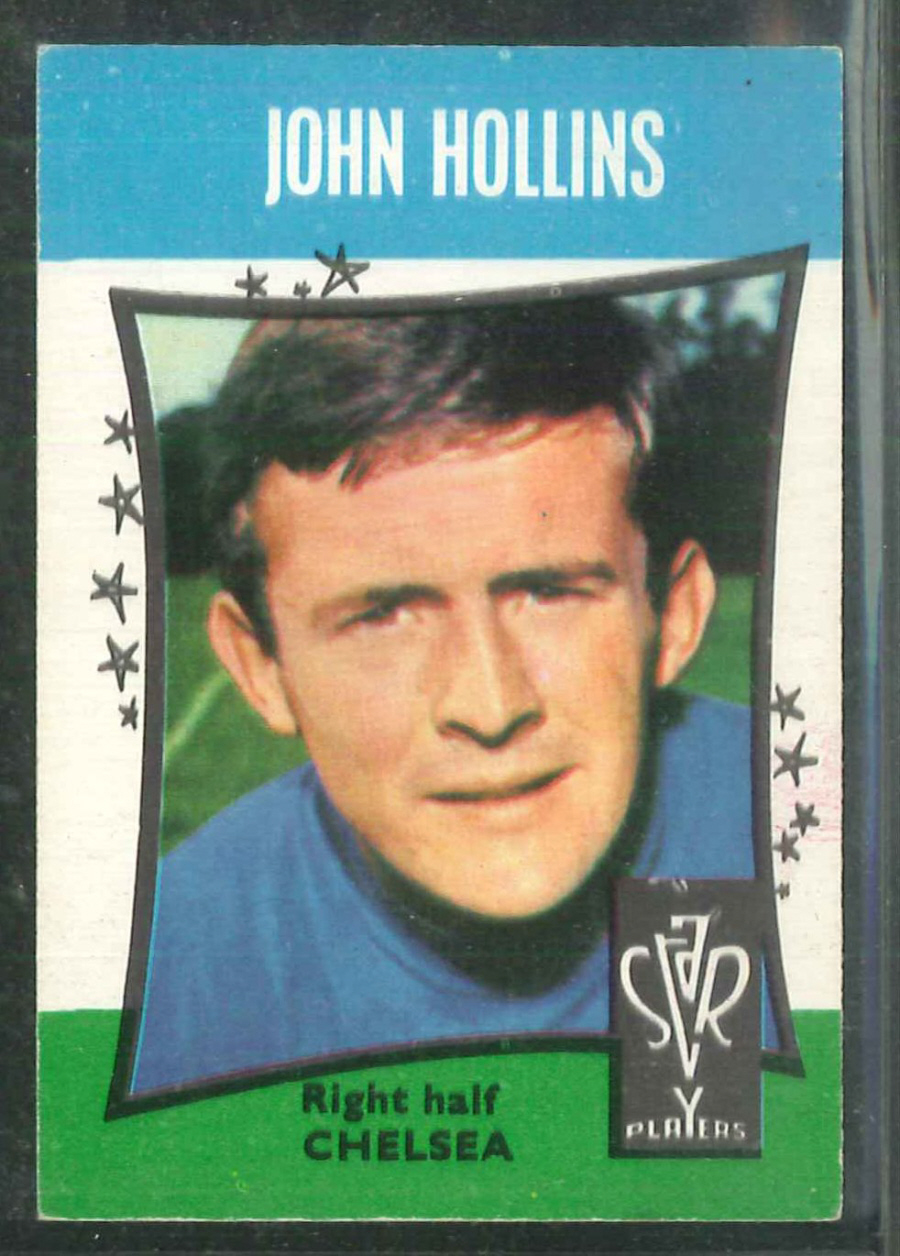 A & B C Football Star Players No3 John Hollins Chelsea