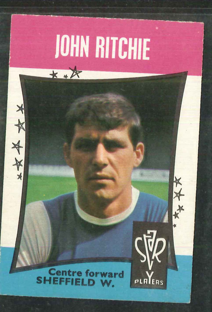 A & B C Football Star Players No 46 John Richie Sheffield Wednesday