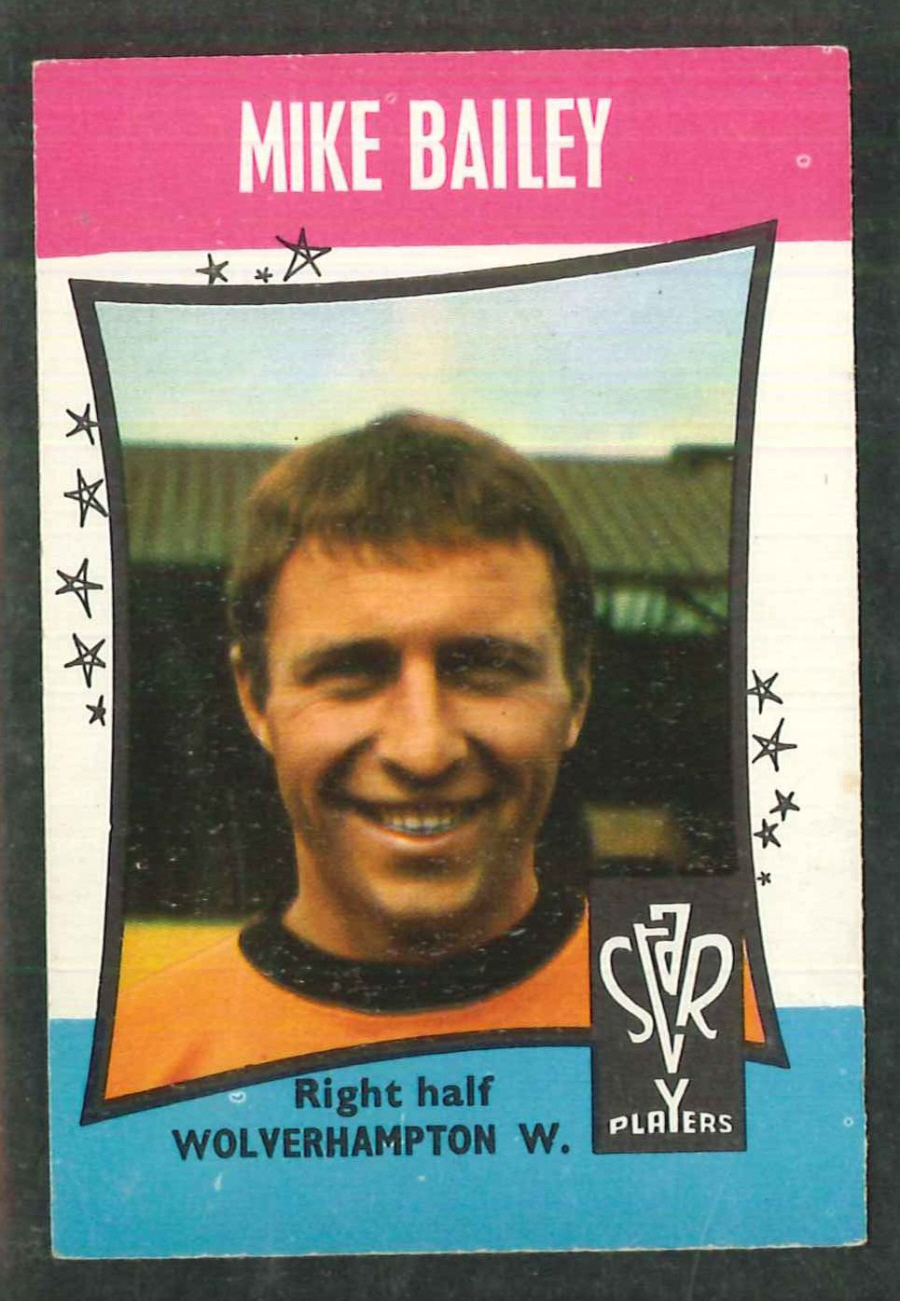 A & B C Football Star Players No 47 Mike Bailey Wolverhampton