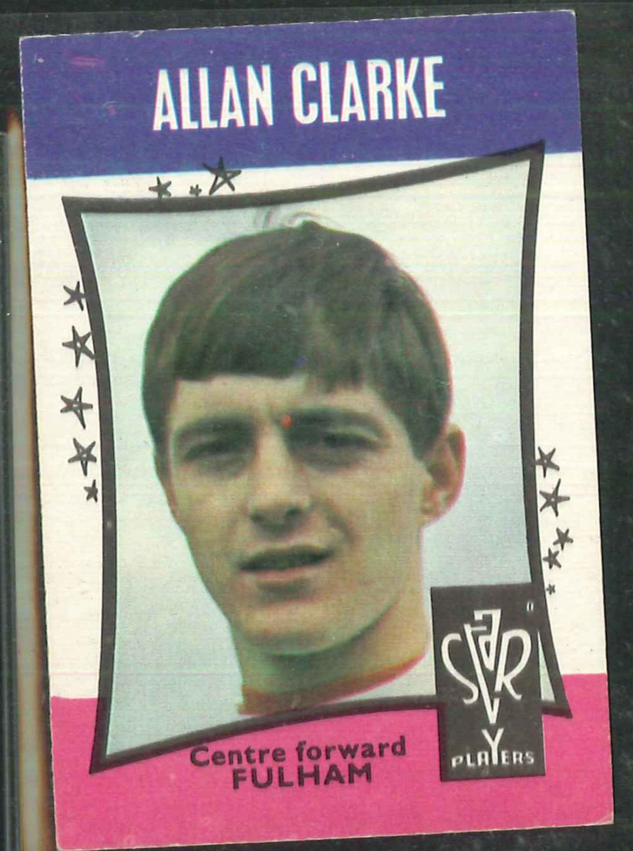 A & B C Football Star Players No 29 Alan Clarke Fulham