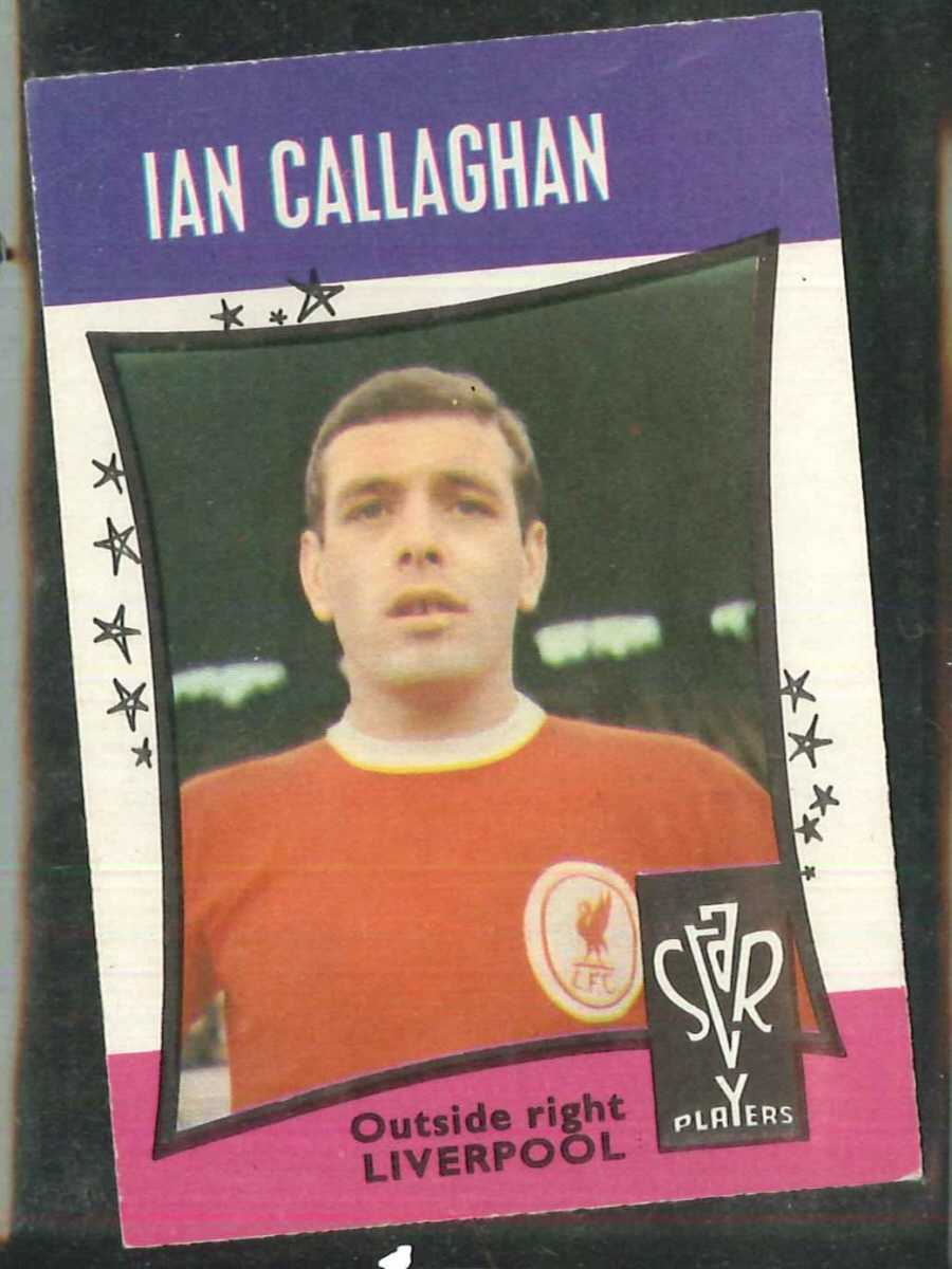 A & B C Football Star Players No 24 Ian Callaghan Liverpool