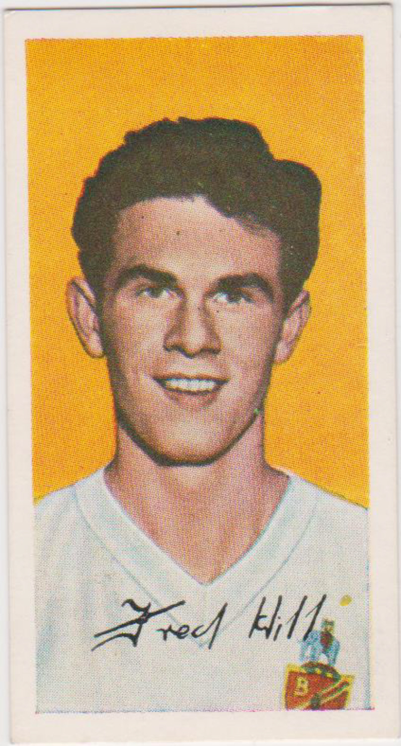 Barratt Famous Footballers A10 No 30 Fred Hill Bolton Wanderers