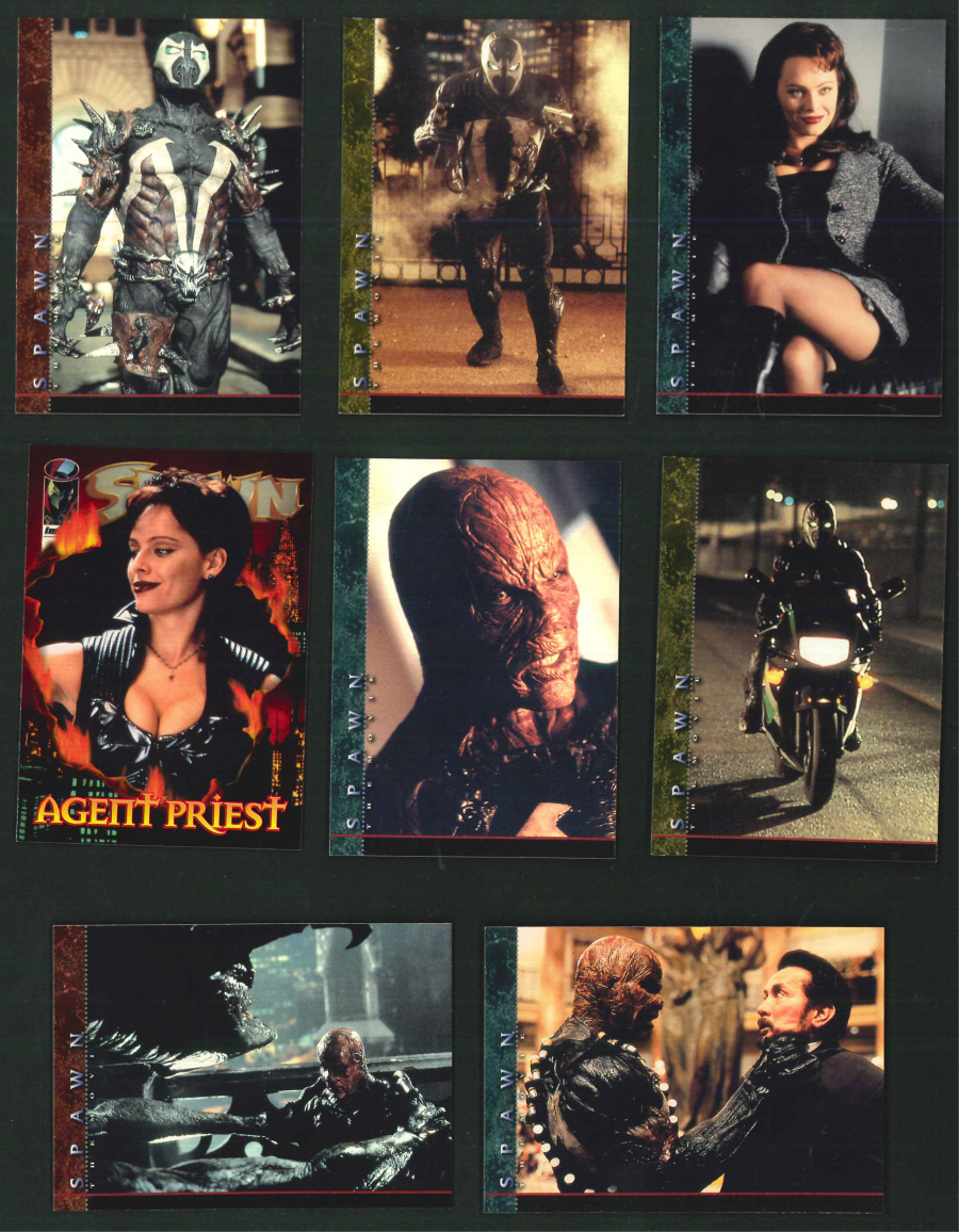 """Spawn The Movie"" Trading Card set, by Inkworks"