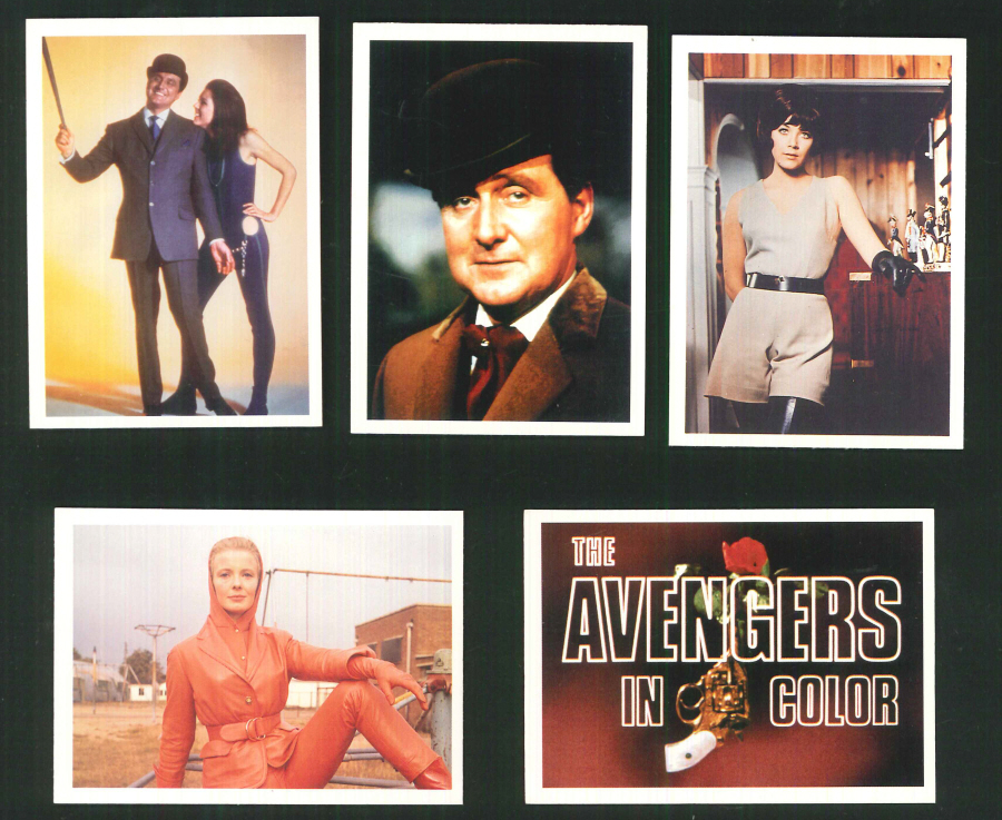 """The Avengers in Color Series 2"" Trading Card set, by Cornerstone"