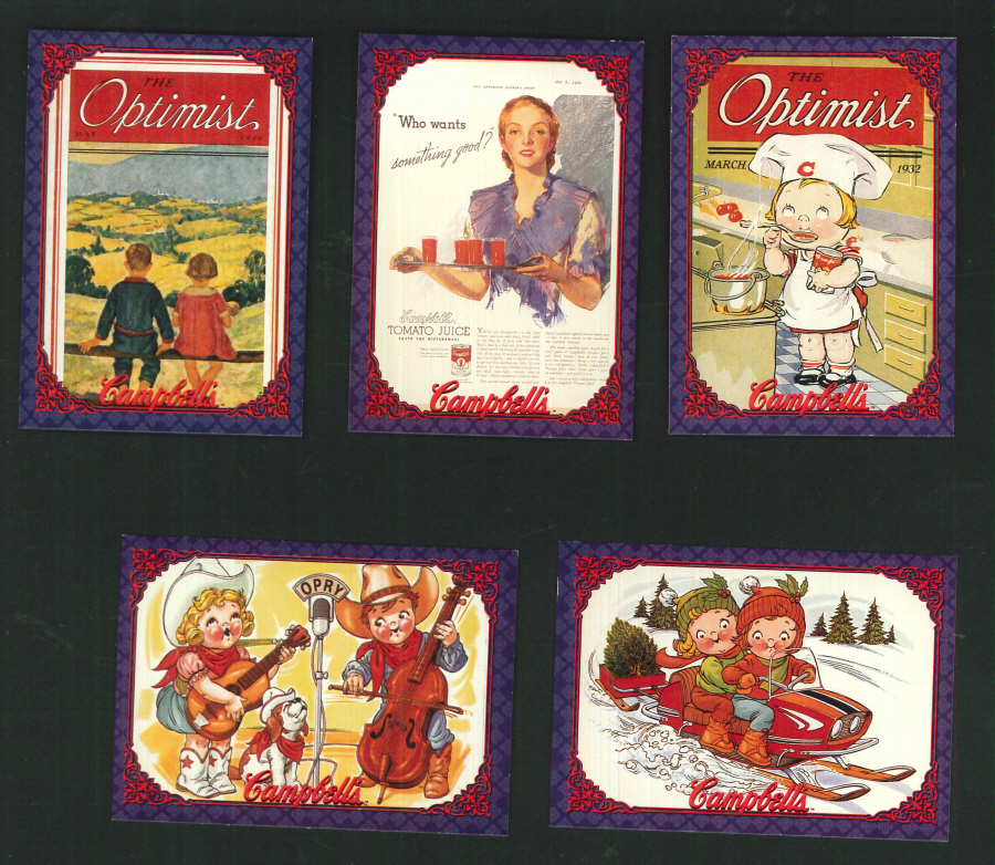 """The Campbell's Collection"" Trading Card set, by Collect-A-Card"