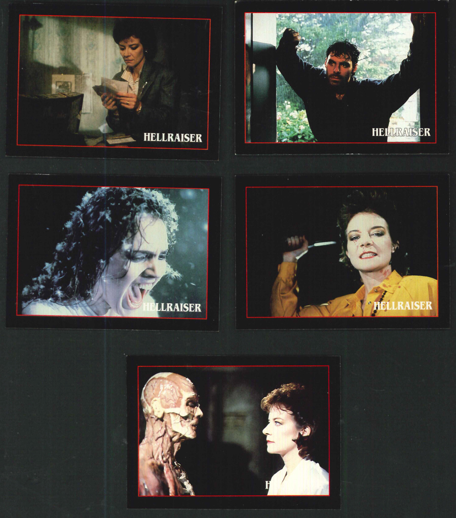 """Hellraiser"" Trading Card set, by Eclipse"