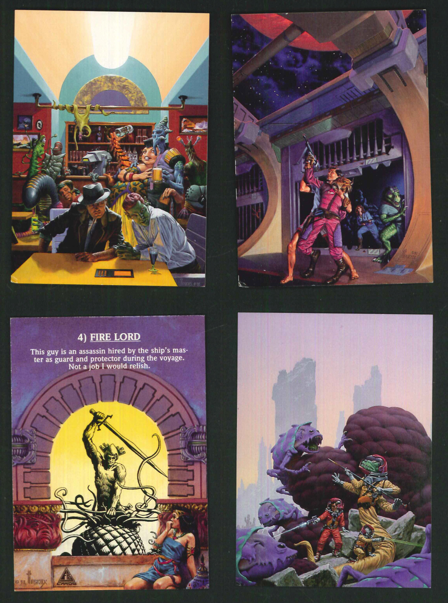 """Richard Hescox Fantasy Art"" Trading Card set, by FPG"