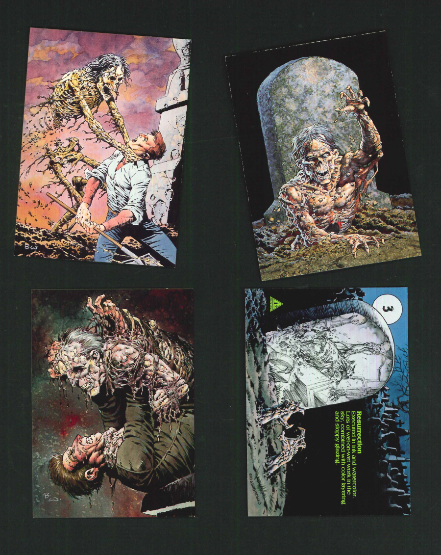 """Bernie Wrightson Series 1 Master of Macabre"" Trading Card set, by FPG"