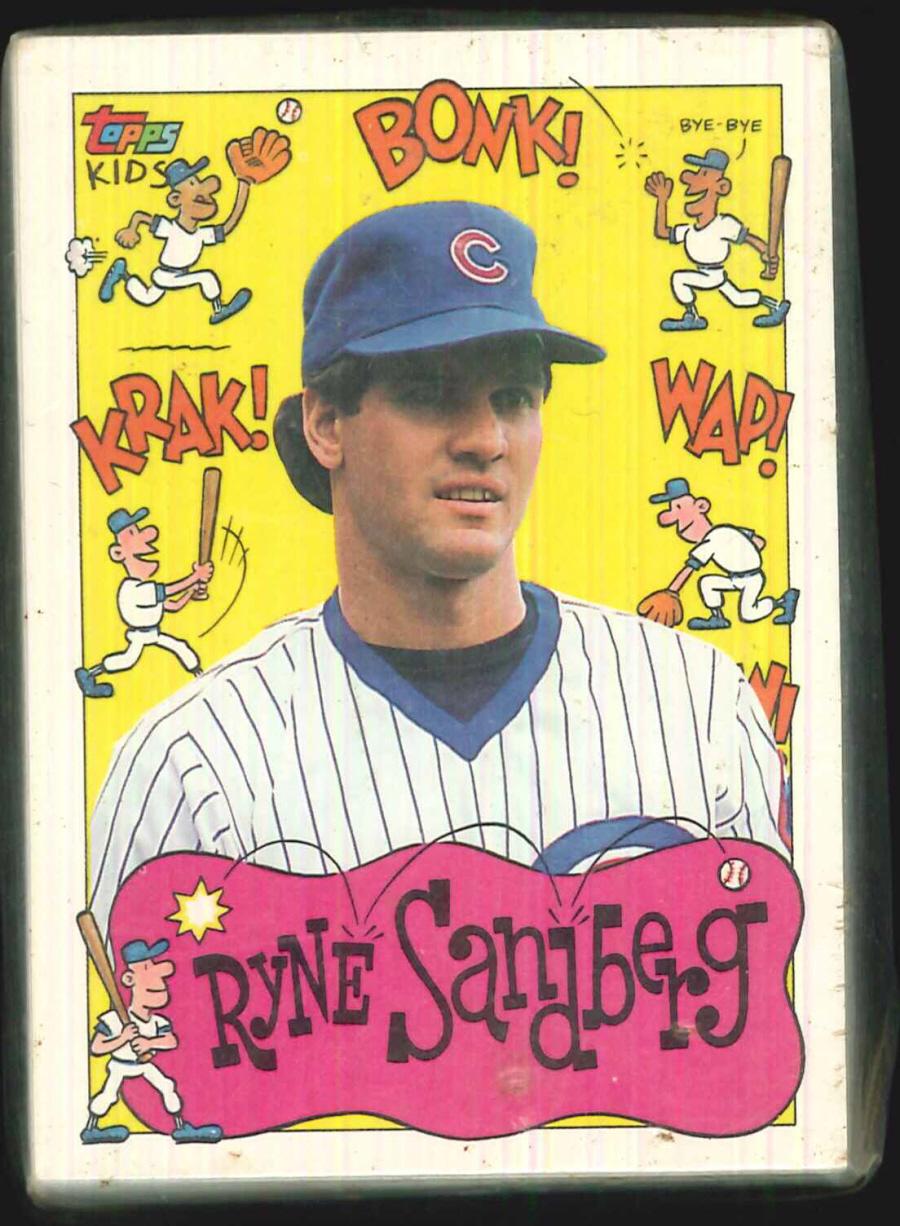 Topps Kids Baseball Trading Card Set By Topps A0047 1200